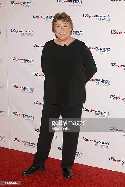 Helen Reddy attends the theatrical celebrity reading of 'Surviving Grace' to benefit Alzheimer's at Stephen J Ross Theatre on the Warner Bros lot on...