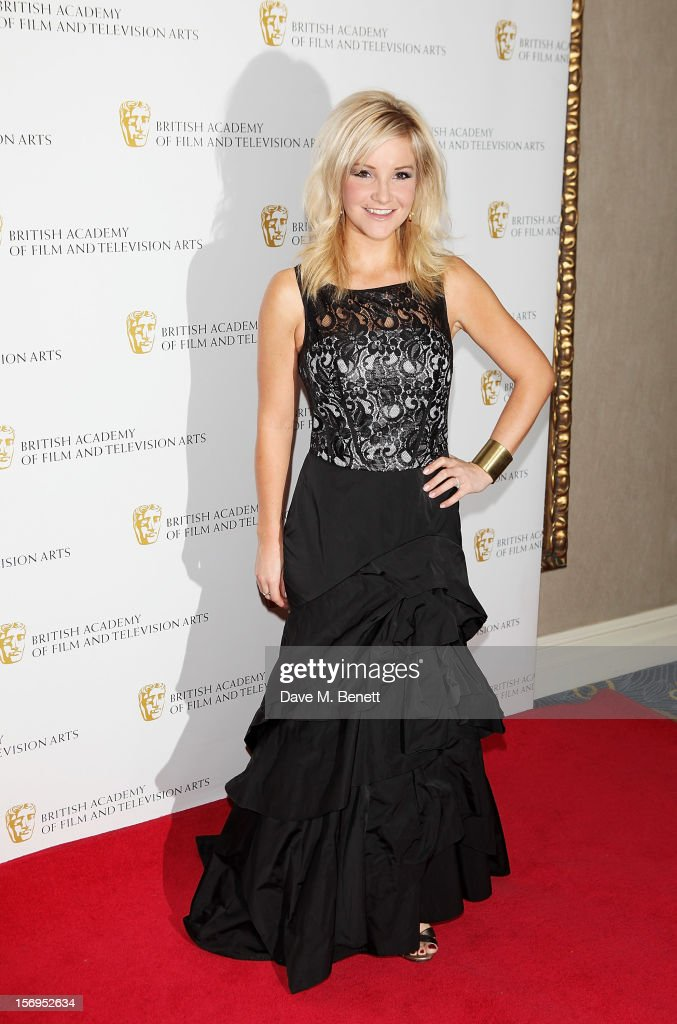 Helen Skelton arrives at the British Academy Children's Awards at the London Hilton on November 25, 2012 in London, England.