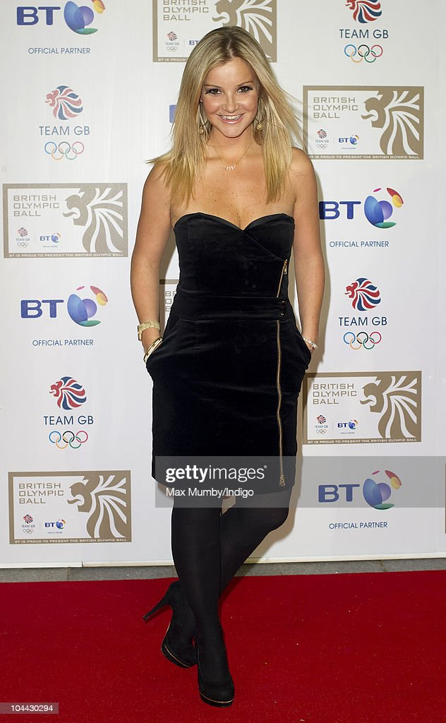 Helen Skelton attends the British Olympic Ball at the Grosvenor House Hotel on September 24, 2010 in London, England.