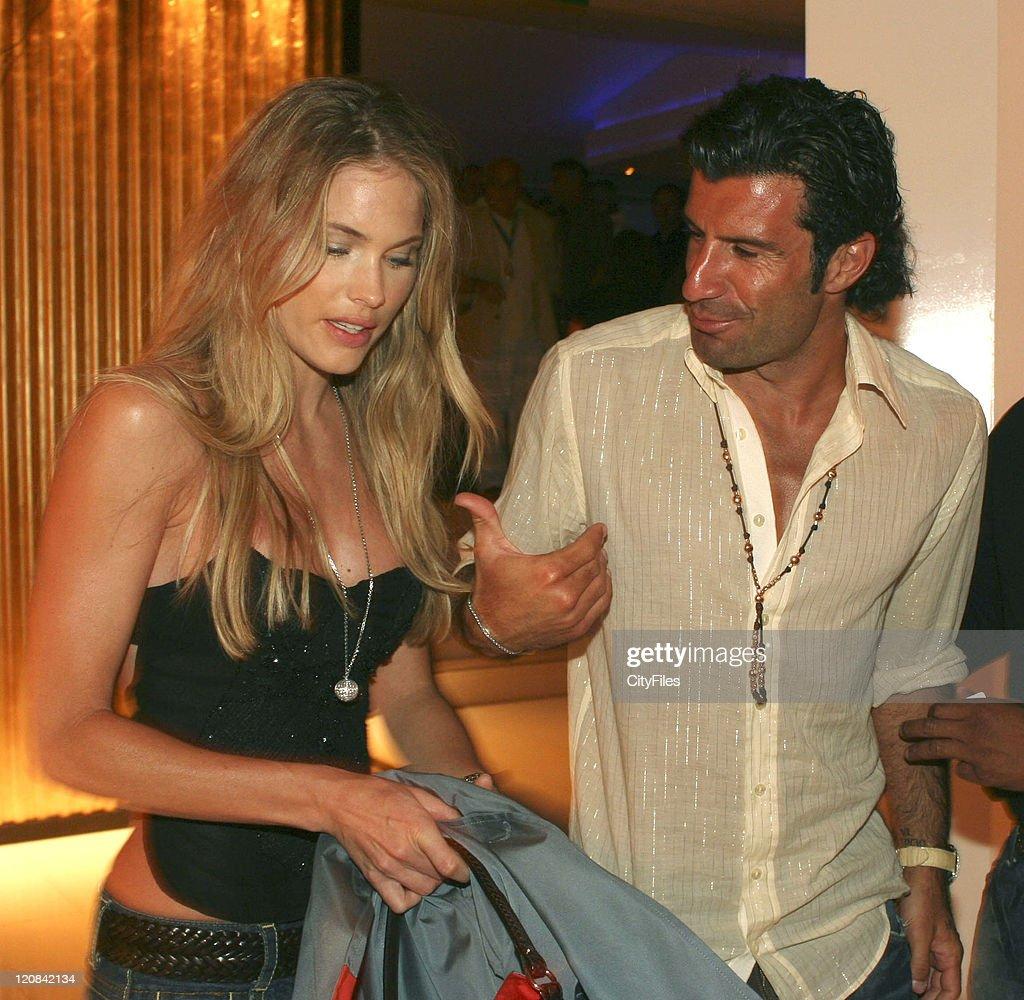 Luis Figo and Helen Svedin Sighting at Santa Eulalia Resort - July 27, 2006