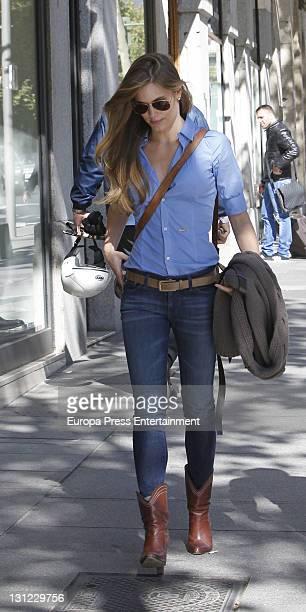 Helen Swedin is seen on November 2 2011 in Madrid Spain