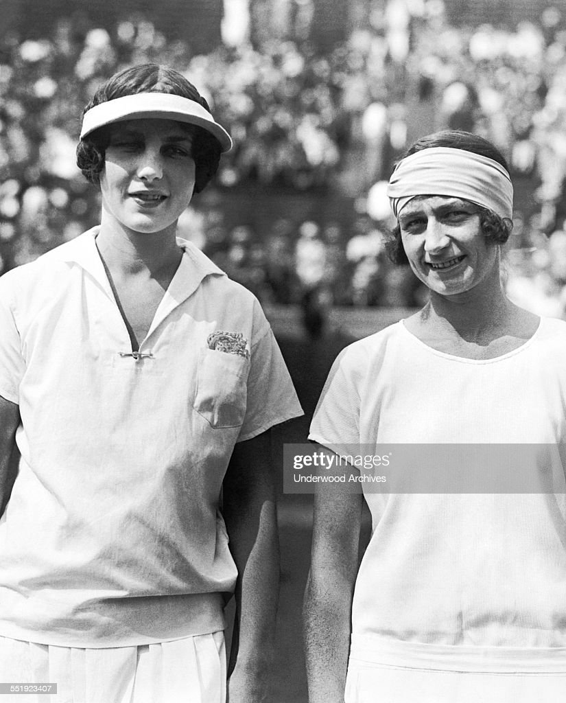 Tennis Champion Helen Wills