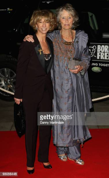 Helen Worth and Virginia McKenna attends the Born Free Wild And Live concert in aid of the Born Free Foundation at Royal Albert Hall on November 14...