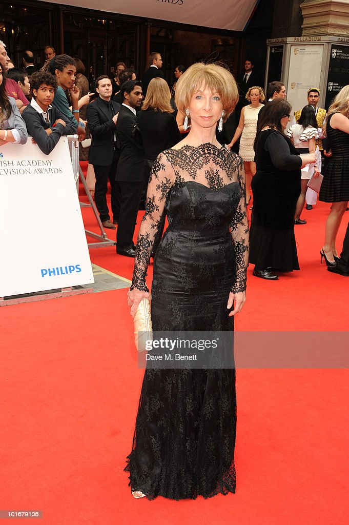 Helen Worth arrives at the Philips British Academy Television Awards at the London Palladium on June 6, 2010 in London, England.