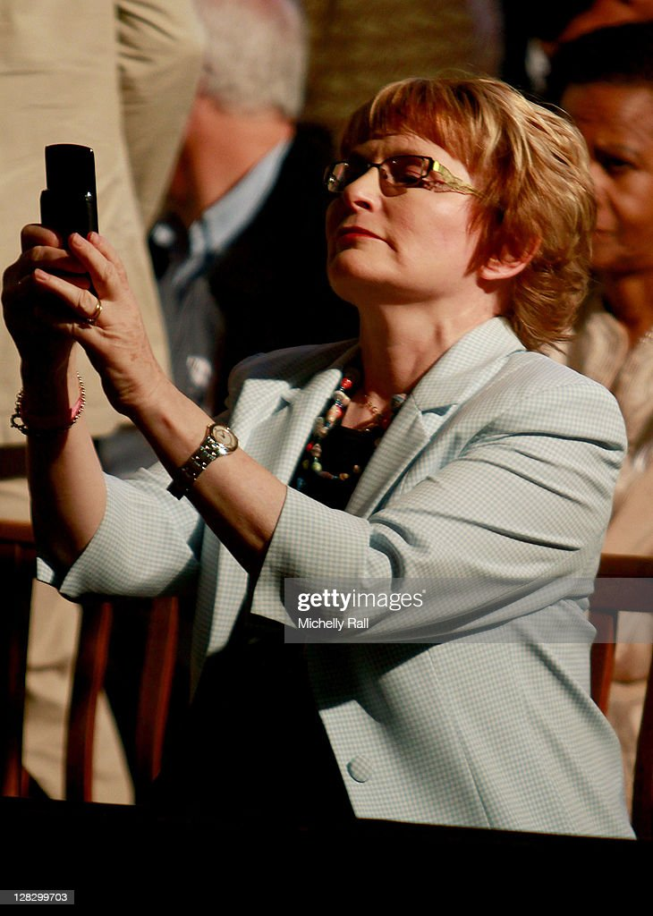 <a gi-track='captionPersonalityLinkClicked' href=/galleries/search?phrase=Helen+Zille&family=editorial&specificpeople=869313 ng-click='$event.stopPropagation()'>Helen Zille</a>, Premier of Cape Town attends the launch of Archbishop Desmond Tutu's biography 'Tutu: The Authorised Portrait' the day before the Archbishop's 80th birthday at St George's Cathedral on October 6, 2011 in Cape Town, South Africa. The authorised biography of Archbishop Emeritus Desmond Tutu, written by authors Mpho Tutu and Allister Sparks, includes a foreword by His Holiness the Dalai Lama. Archbishop Tutu criticised South Africa's ANC government earlier in the week for not issuing a visa enabling the Dalai Lama to attend Tutu's 80th birthday celebrations.