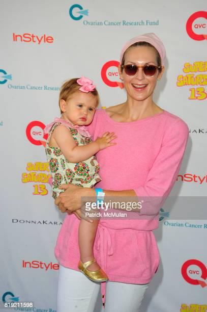 Helena and Kelly Rutherford attend Donna Karan Ariel Foxman InStyle Along With Kelly Ripa Ashley Greene Present Super Saturday 13 at Nova's Ark...