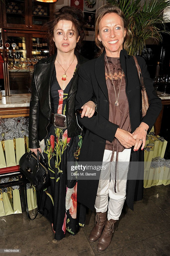 <a gi-track='captionPersonalityLinkClicked' href=/galleries/search?phrase=Helena+Bonham+Carter&family=editorial&specificpeople=210567 ng-click='$event.stopPropagation()'>Helena Bonham Carter</a> (L) and Allie Esiri attend an after party following the press night performance of 'Passion Play' at The National Gallery on May 7, 2013 in London, England.