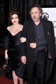 Helena Bonham Carter and Tim Burton arrive at the 38th Annual Los Angeles Film Critics Association Awards at InterContinental Hotel on January 12...