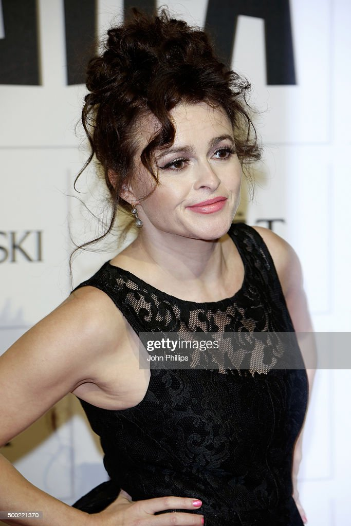 Helena Bonham Carter arrives at The Moet British Independent Film Awards 2015 at Old Billingsgate Market on December 6, 2015 in London, England.