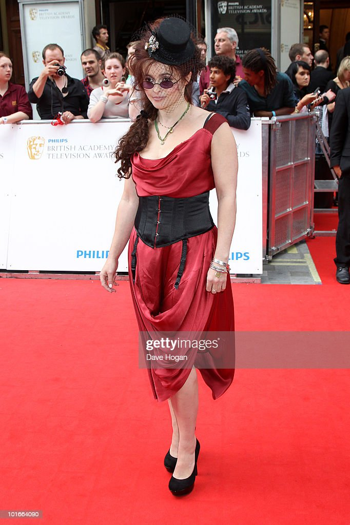 Helena Bonham Carter arrives at The Philips British Academy Television Awards held at The Palladium on June 6, 2010 in London, England.