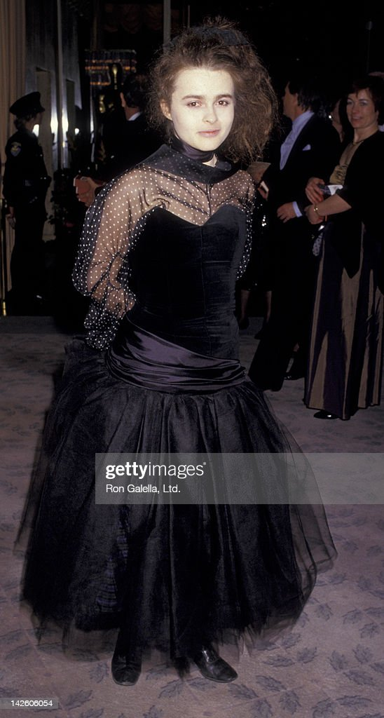 Helena Bonham Carter attends 59th Annual Academy Awards on March 30 1987 at the Dorothy Chandler Pavilion in Los Angeles California