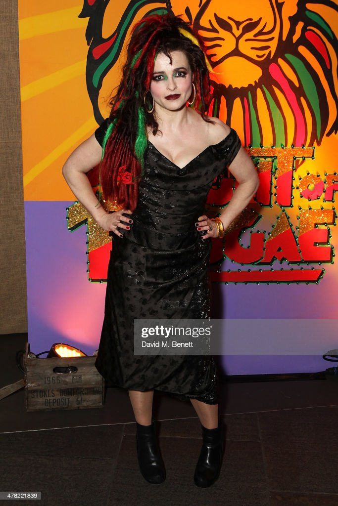 <a gi-track='captionPersonalityLinkClicked' href=/galleries/search?phrase=Helena+Bonham+Carter&family=editorial&specificpeople=210567 ng-click='$event.stopPropagation()'>Helena Bonham Carter</a> attends 'A Night of Reggae' hosted by <a gi-track='captionPersonalityLinkClicked' href=/galleries/search?phrase=Helena+Bonham+Carter&family=editorial&specificpeople=210567 ng-click='$event.stopPropagation()'>Helena Bonham Carter</a> for Save The Children UK at The Roundhouse on March 12, 2014 in London, England.