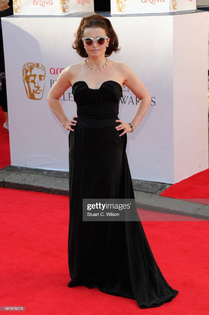 Helena Bonham Carter attends the Arqiva British Academy Television Awards at Theatre Royal on May 18 2014 in London England