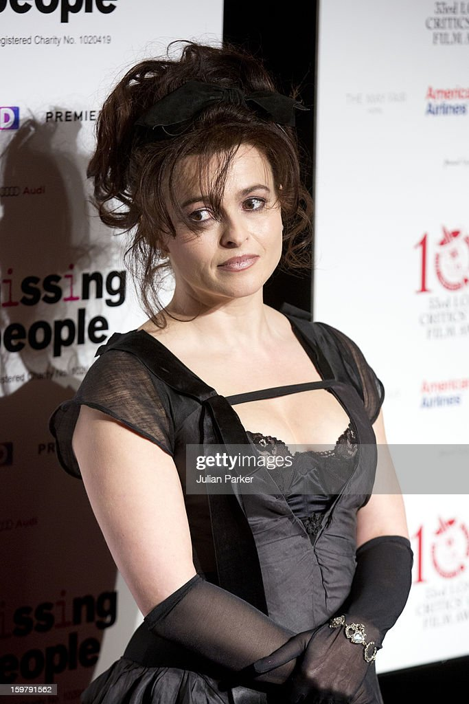 Helena Bonham Carter, attends the London Critics' Circle Film Awards at The Mayfair Hotel on January 20, 2013 in London, England.