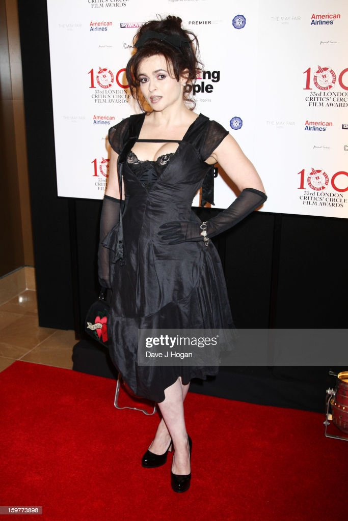 <a gi-track='captionPersonalityLinkClicked' href=/galleries/search?phrase=Helena+Bonham+Carter&family=editorial&specificpeople=210567 ng-click='$event.stopPropagation()'>Helena Bonham Carter</a> attends The London Film Critics Circle Film Awards 2013 at The Mayfair Hotel on January 20, 2013 in London, England.