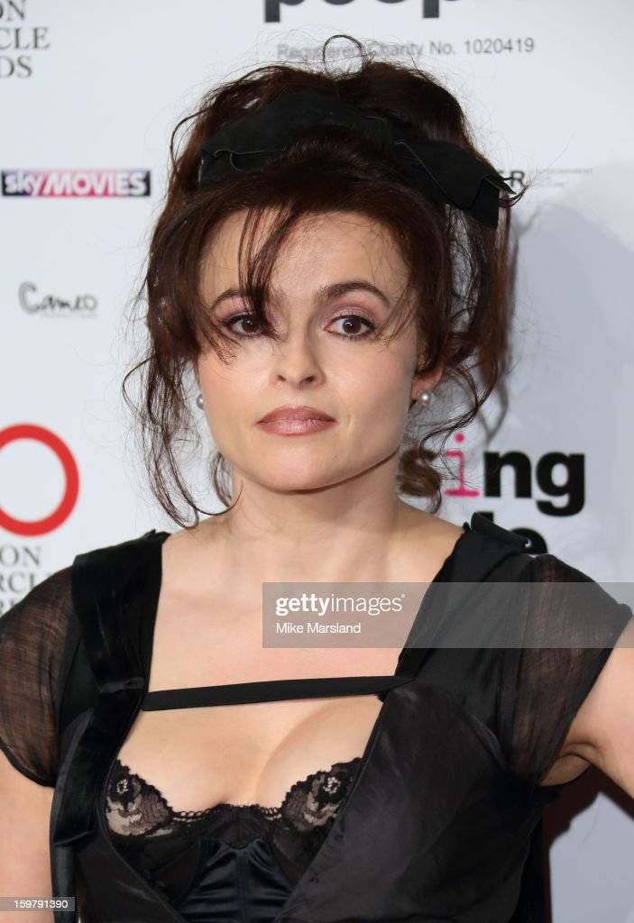 Helena Bonham Carter attends the London Film Critics Circle Film Awards at The Mayfair Hotel on January 20, 2013 in London, England.