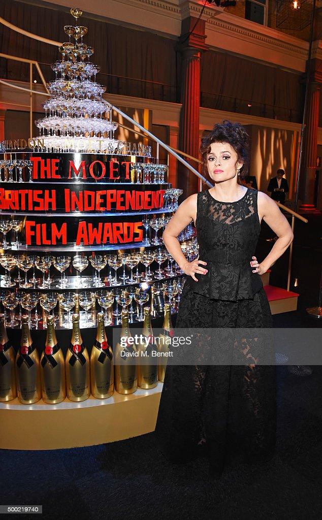 Helena Bonham Carter attends the Moet British Independent Film Awards 2015 at Old Billingsgate Market on December 6, 2015 in London, England.