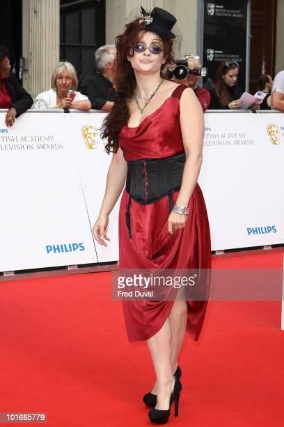 Helena Bonham Carter attends the Philips British Academy Television awards at London Palladium on June 6 2010 in London England