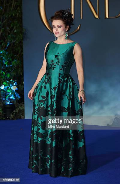 Helena Bonham Carter attends the UK Premiere of 'Cinderella' at Odeon Leicester Square on March 19 2015 in London England
