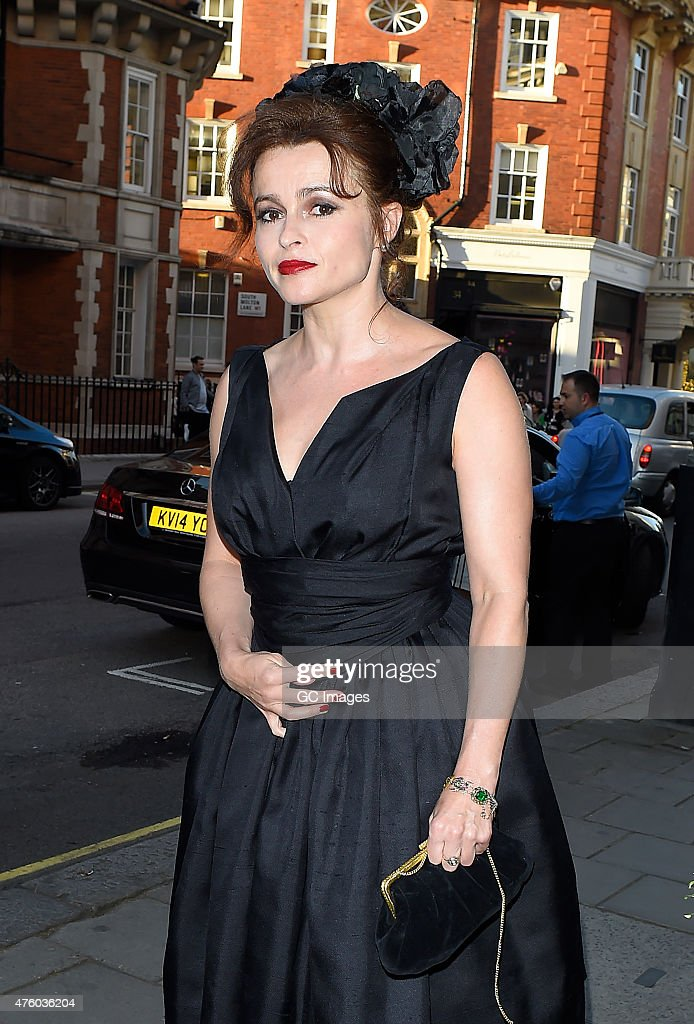 Helena Bonham Carter attends The WilliamVintage Summer Party at Claridge's Ball Room on June 5 2015 in London England