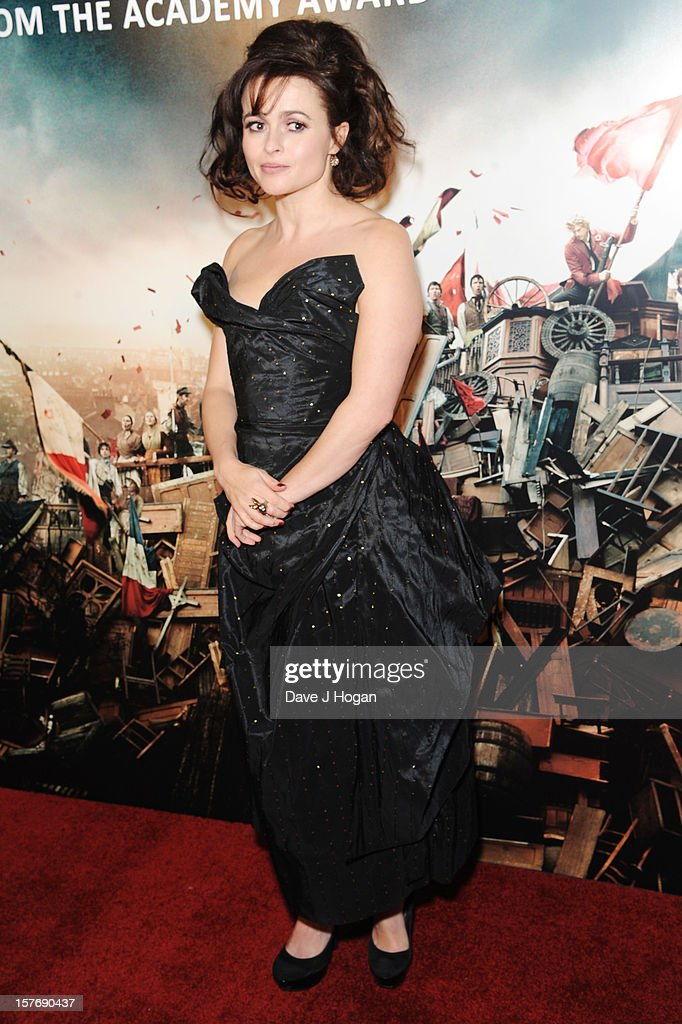 Helena Bonham Carter attends the world premiere after party for Les Miserables at The Odeon Leicester Square on December 5, 2012 in London, England.