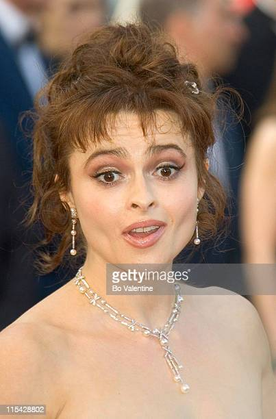 Helena Bonham Carter during 2006 Cannes Film Festival Opening Night Gala and World Premiere of 'The Da Vinci Code' Arrivals at Palais du Festival in...