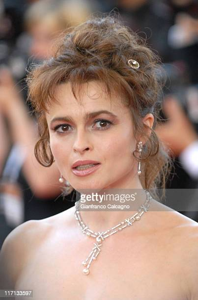 Helena Bonham Carter during 2006 Cannes Film Festival Opening Night Gala and World Premiere of The Da Vinci Code Arrivals at Palais du Festival in...