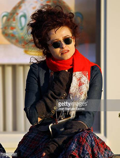 Helena Bonham Carter is seen at the Grove on February 24 2011 in Los Angeles California