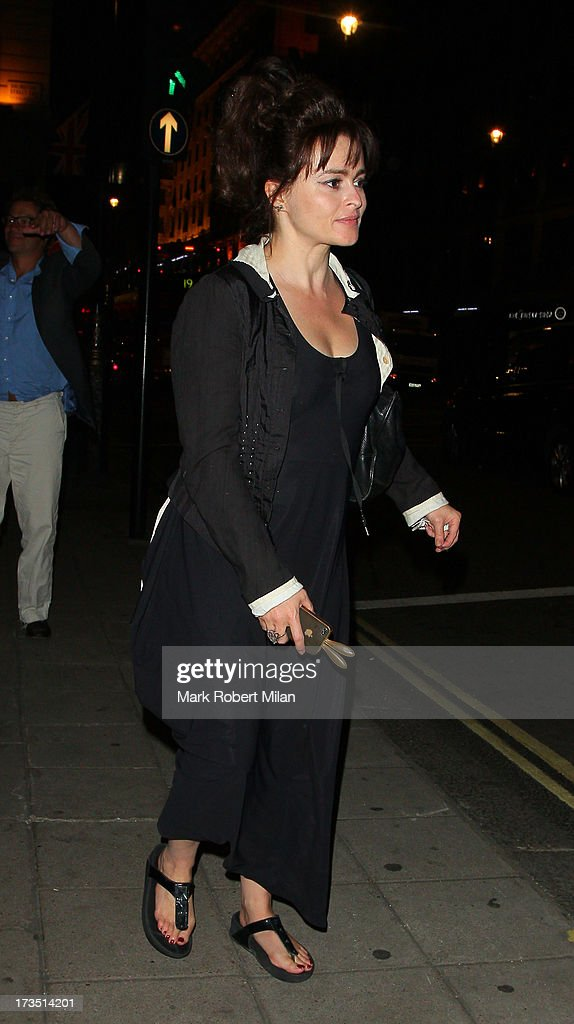 <a gi-track='captionPersonalityLinkClicked' href=/galleries/search?phrase=Helena+Bonham+Carter&family=editorial&specificpeople=210567 ng-click='$event.stopPropagation()'>Helena Bonham Carter</a> leaving the Wolseley restaurant on July 15, 2013 in London, England.