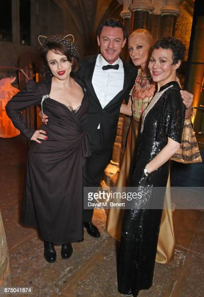 Helena Bonham Carter Luke Evans Joely Richardson and Helen McCrory attend Save The Children's Magical Winter Gala celebrating the 20th anniversary...