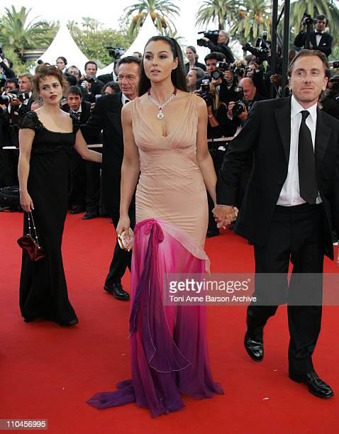 Helena Bonham Carter Monica Bellucci and Tim Roth