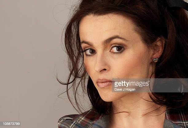 Helena Bonham Carter poses during the 'The Kings Speech' portrait session during The 54th BFI London Film Festival held at The Vue Leicester Square...