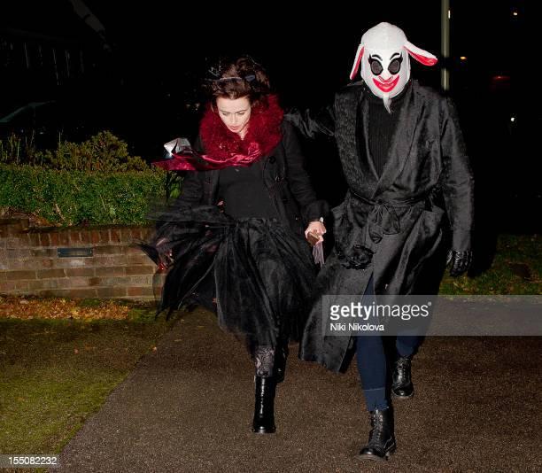 Helena Bonham Carter sighting on October 31 2012 in London England