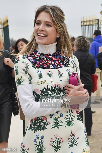 Helena Bordon arrives at Valentino Fashion Show during Paris Fashion Week Fall Winter 2015/2016 on March 10 2015 in Paris France