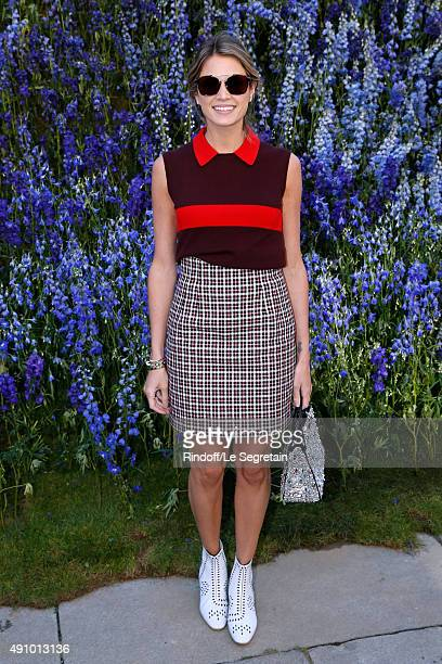 Helena Bordon attends the Christian Dior show as part of the Paris Fashion Week Womenswear Spring/Summer 2016 Held at Cour Carre du Louvre on October...
