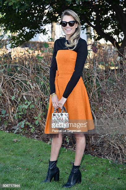 Helena Bordon attends the Christian Dior Spring Summer 2016 show as part of Paris Fashion Week on January 25 2016 in Paris France