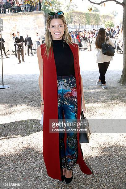 Helena Bordon attends the Elie Saab show as part of the Paris Fashion Week Womenswear Spring/Summer 2016 on October 3 2015 in Paris France