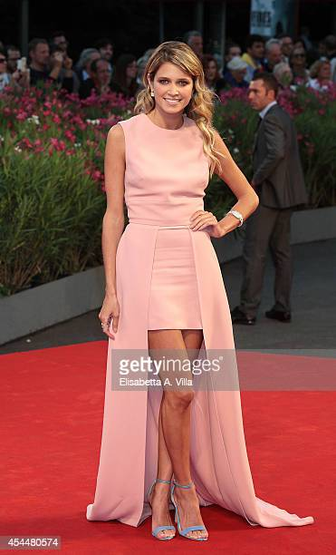 Helena Bordon attends the 'Il Giovane Favoloso' premiere during the 71st Venice Film Festival at Sala Grande on September 1 2014 in Venice Italy