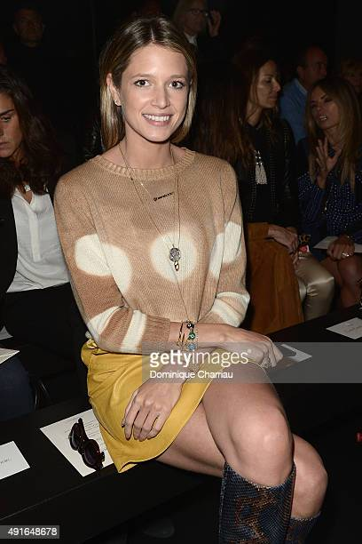 Helena Bordon attends the Moncler Gamme Rouge show as part of the Paris Fashion Week Womenswear Spring/Summer 2016 on October 7 2015 in Paris France