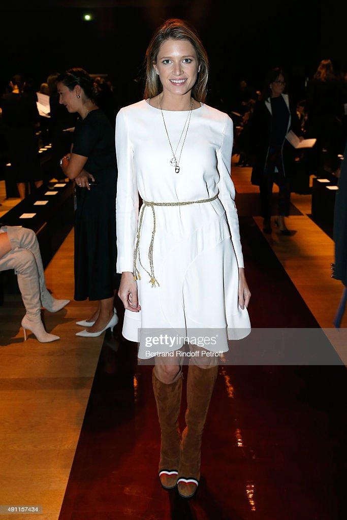 Nina Ricci : Front Row - Paris Fashion Week Womenswear Spring/Summer 2016