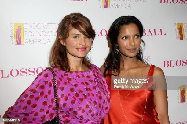 Helena Christensen and Padma Lakshmi attend The BLOSSOM BALL To Benefit The Endometriosis Foundation of America at The Prince George Ballroom on...