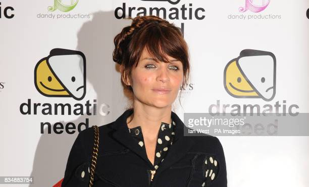 Helena Christensen arrives at the Dramatic Need Carnival Spectacular at the Village Underground in London