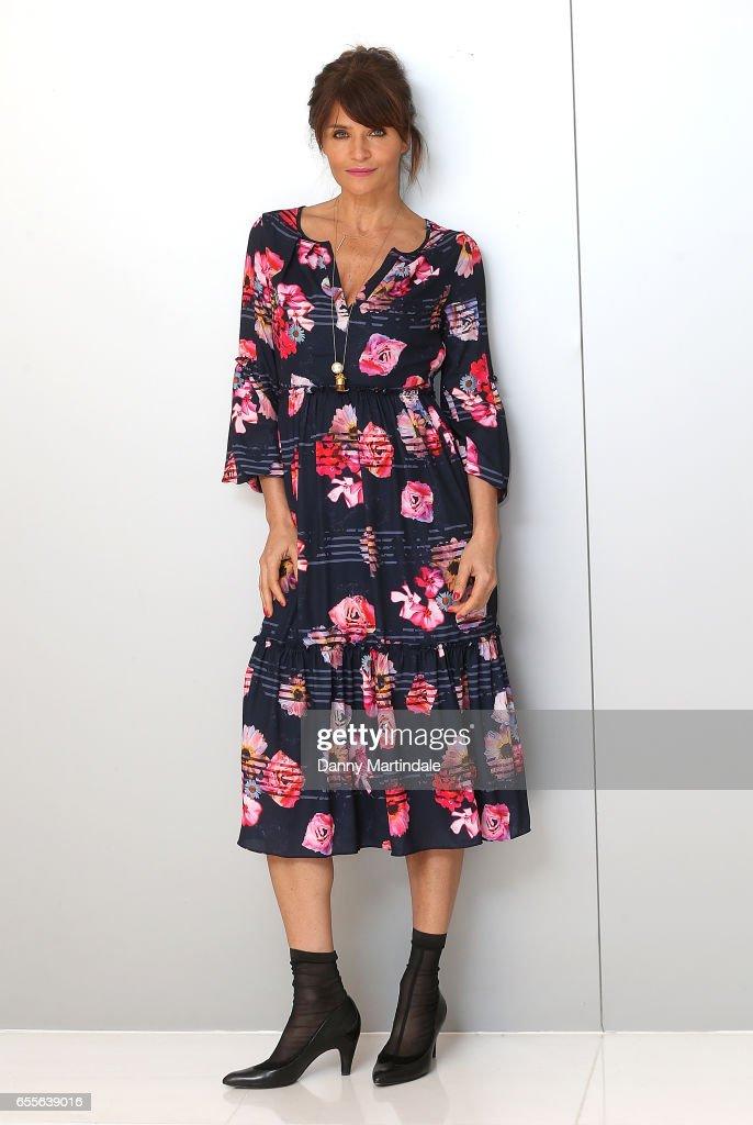 Helena Christensen attends Debenhams Summer 17 Salon Show with global supermodel Helena Christensen alongside selection of Designers at Debenhams on March 20, 2017 in London, United Kingdom.