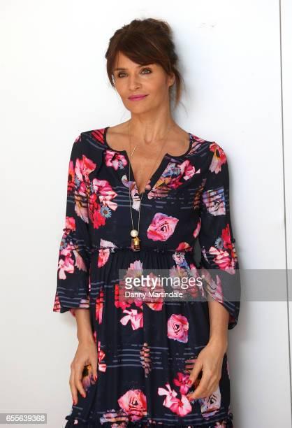 Helena Christensen attends Debenhams Summer 17 Salon Show with global supermodel Helena Christensen alongside selection of Designers at Debenhams on...