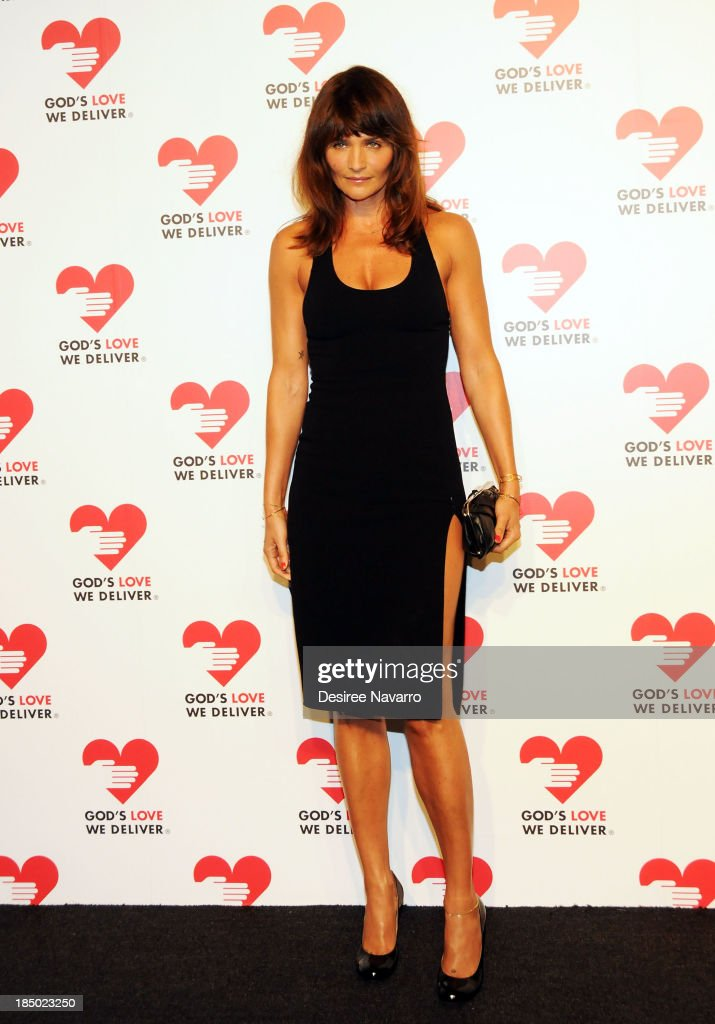 <a gi-track='captionPersonalityLinkClicked' href=/galleries/search?phrase=Helena+Christensen&family=editorial&specificpeople=202841 ng-click='$event.stopPropagation()'>Helena Christensen</a> attends the 2013 God's Love We Deliver 2013 Golden Heart Awards Celebration at Spring Studios on October 16, 2013 in New York City.
