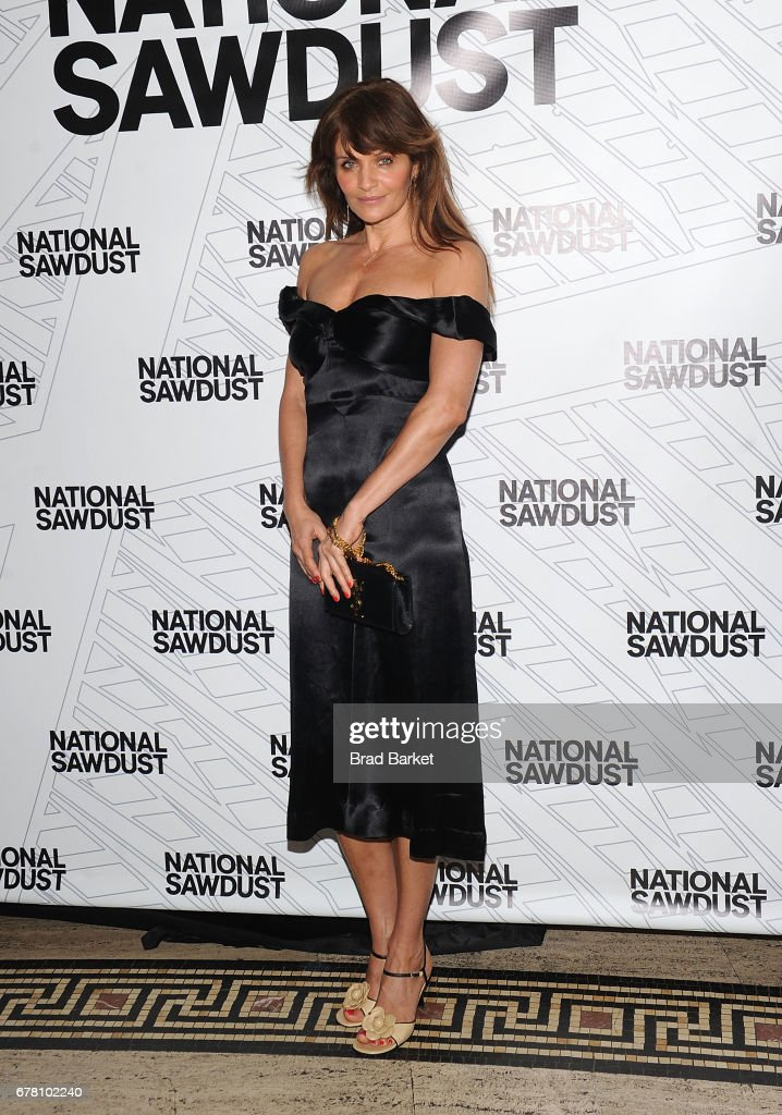 Helena Christensen attends the 2017 National Sawdust Spring Gala at Gotham Hall on May 3, 2017 in New York City.