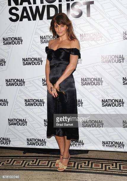 Helena Christensen attends the 2017 National Sawdust Spring Gala at Gotham Hall on May 3 2017 in New York City