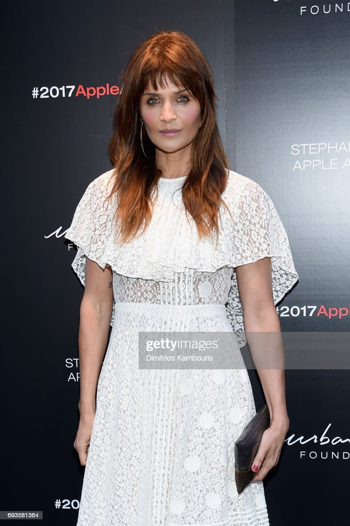 Helena Christensen attends the 2017 Stephan Weiss Apple Awards on June 7, 2017 in New York City.