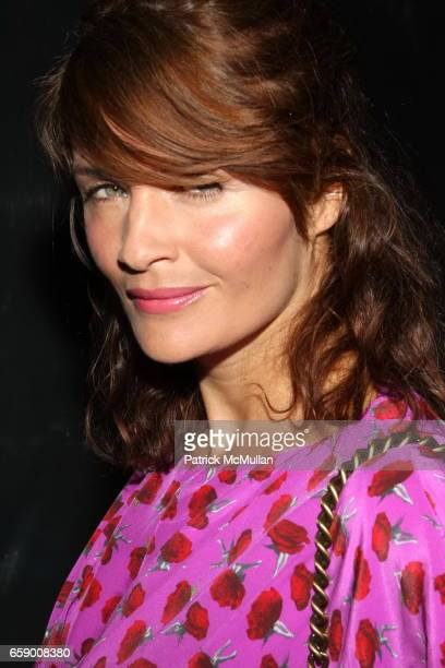 Helena Christensen attends The BLOSSOM BALL To Benefit The Endometriosis Foundation of America at The Prince George Ballroom on April 20 2009 in New...