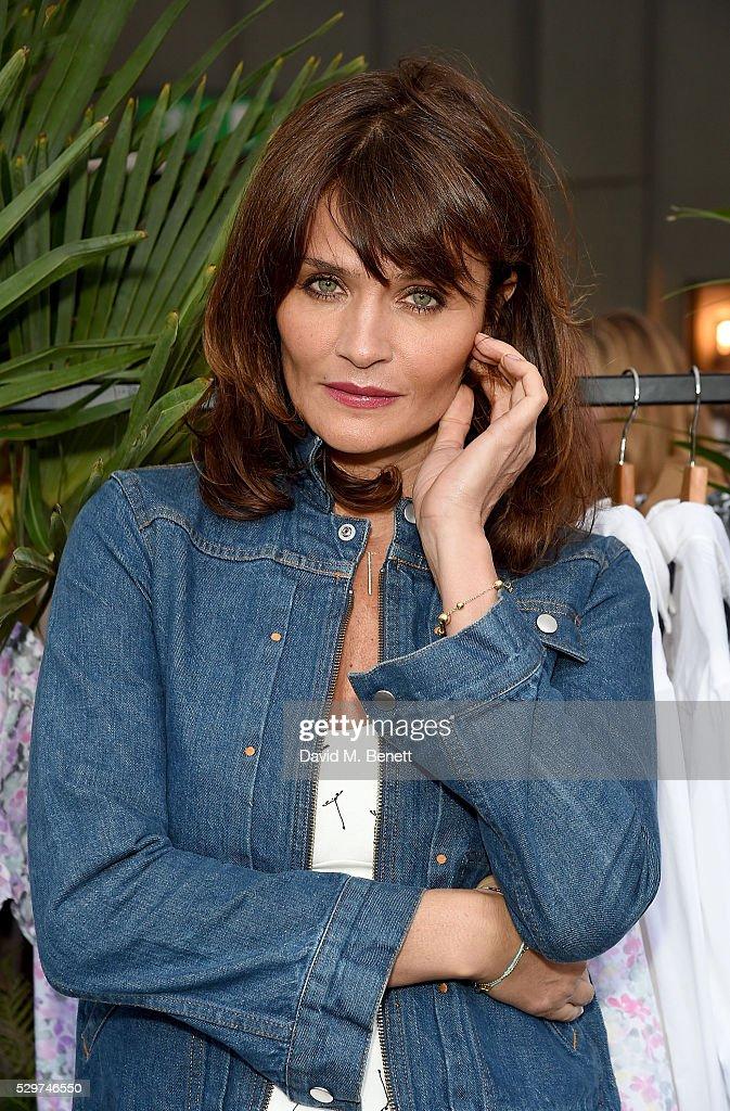 Helena Christensen attends the Helena Christensen for Thomson ...